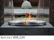 Вечный огонь в Кронштадте (2008 год). Редакционное фото, фотограф Елена Галачьянц / Фотобанк Лори