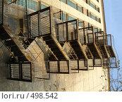 Запасной выход. Стоковое фото, фотограф Соломин Андрей / Фотобанк Лори