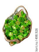 Купить «Шоколадные конфеты в фарфоровой вазе», фото № 498926, снято 4 октября 2008 г. (c) Федор Королевский / Фотобанк Лори