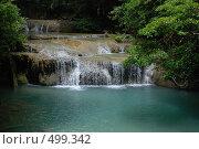Река с водопадом в тропическом лесу (2008 год). Стоковое фото, фотограф Сергей Анисимов / Фотобанк Лори