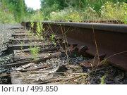 Железная дорога. Стоковое фото, фотограф Татьяна Тимофеева / Фотобанк Лори
