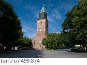 Кафедральный собор в Турку.Финляндия. (2008 год). Редакционное фото, фотограф Ярослав Никитин / Фотобанк Лори