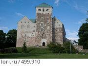 Замок в Турку (2008 год). Стоковое фото, фотограф Ярослав Никитин / Фотобанк Лори