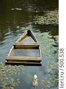 Купить «Заброшенная лодка», фото № 500538, снято 22 августа 2006 г. (c) Константин Чевелёв / Фотобанк Лори