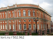 Купить «Дворец музея-заповедника Царицыно», фото № 502962, снято 9 октября 2008 г. (c) Владимир Казарин / Фотобанк Лори