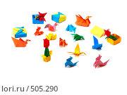 Купить «Оригами», фото № 505290, снято 27 августа 2008 г. (c) Литова Наталья / Фотобанк Лори