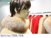 Купить «Манекен в пальто», фото № 506194, снято 19 января 2019 г. (c) Losevsky Pavel / Фотобанк Лори