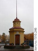 Кронштадтский футшток (2008 год). Стоковое фото, фотограф Вадим Билалов / Фотобанк Лори