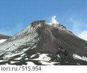 Действующий вулкан Этна. Сицилия (2005 год). Стоковое фото, фотограф E. O. / Фотобанк Лори