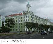 Один из корпусов Технического университета в Минске (2008 год). Редакционное фото, фотограф Римма Радшун / Фотобанк Лори