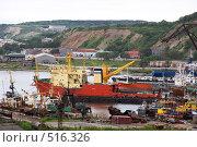 Купить «Город Корсаков, Сахалинская область», фото № 516326, снято 19 июля 2008 г. (c) Ольга К. / Фотобанк Лори