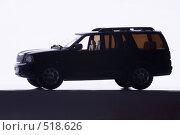 Купить «Модель автомобиля Lincoln Navigator в контровом свете», эксклюзивное фото № 518626, снято 24 декабря 2005 г. (c) Сайганов Александр / Фотобанк Лори