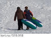 Купить «К вершине горы», фото № 519918, снято 22 декабря 2007 г. (c) Наталья Герасимова / Фотобанк Лори