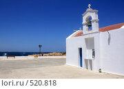 Купить «Церковь, Малия, о.Крит,Греция, 2008г.», эксклюзивное фото № 520818, снято 4 августа 2008 г. (c) Яна Королёва / Фотобанк Лори