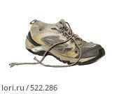 Купить «Старая кроссовка», фото № 522286, снято 30 августа 2008 г. (c) Надежда Болотина / Фотобанк Лори