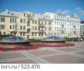 Два здания на площади Независимости в Минске (2008 год). Редакционное фото, фотограф Римма Радшун / Фотобанк Лори