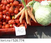Купить «Базар», фото № 526774, снято 23 августа 2008 г. (c) Глеб Тропин / Фотобанк Лори