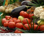 Купить «Овощи», фото № 526778, снято 23 августа 2008 г. (c) Глеб Тропин / Фотобанк Лори