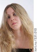 Купить «Портрет красивой девушки», фото № 531010, снято 17 мая 2008 г. (c) Варвара Воронова / Фотобанк Лори