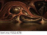 Абстракция. Стоковая иллюстрация, иллюстратор Parmenov Pavel / Фотобанк Лори