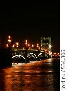 Литейный мост (2008 год). Стоковое фото, фотограф Роман Коршунов / Фотобанк Лори