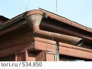 Водосток. Стоковое фото, фотограф Аврам / Фотобанк Лори