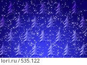Купить «Новогодний фон», иллюстрация № 535122 (c) Владимир Сергеев / Фотобанк Лори