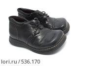 Детская обувь. Стоковое фото, фотограф Алексей Хабазов / Фотобанк Лори