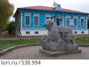 Купить «Урюпинск. Памятник козе», эксклюзивное фото № 538994, снято 13 октября 2008 г. (c) Румянцева Наталия / Фотобанк Лори