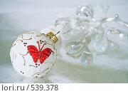 Купить «Новогодние украшения», фото № 539378, снято 28 октября 2008 г. (c) Логинова Елена / Фотобанк Лори