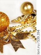 Купить «Новогодние украшения», фото № 539394, снято 29 октября 2008 г. (c) Логинова Елена / Фотобанк Лори
