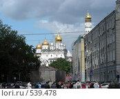 Купить «Москва. Городской пейзаж», эксклюзивное фото № 539478, снято 30 мая 2008 г. (c) lana1501 / Фотобанк Лори