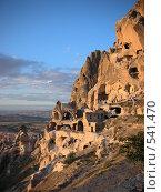 Купить «Скальные поселения Каппадокии», фото № 541470, снято 26 мая 2018 г. (c) Саида Данюкова / Фотобанк Лори