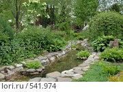 Купить «Декоративный водоем», фото № 541974, снято 5 мая 2008 г. (c) Игорь Шаталов / Фотобанк Лори