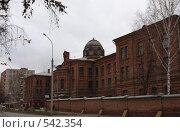 Купить «Томский военно-медицинский институт, главный корпус», фото № 542354, снято 25 октября 2008 г. (c) Андрей Николаев / Фотобанк Лори