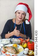 Купить «Готовим морепродукты к новогоднему столу», фото № 544430, снято 3 ноября 2008 г. (c) Ольга Кедрова / Фотобанк Лори
