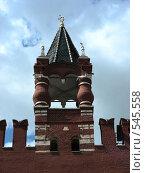 Купить «Москва. Башня Кремля», эксклюзивное фото № 545558, снято 30 мая 2008 г. (c) lana1501 / Фотобанк Лори