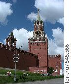 Купить «Москва. Кремль. Спасская башня», эксклюзивное фото № 545566, снято 30 мая 2008 г. (c) lana1501 / Фотобанк Лори