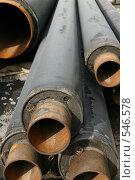 Купить «Склад завода по изготовлению труб», фото № 546578, снято 29 августа 2006 г. (c) Александр Секретарев / Фотобанк Лори