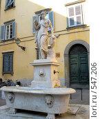 Италия, площадь в городе Люкка (2008 год). Стоковое фото, фотограф Anna Marklund / Фотобанк Лори