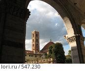 Италия, город Люкка (2008 год). Стоковое фото, фотограф Anna Marklund / Фотобанк Лори