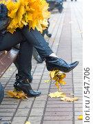 Купить «Осенний этюд», фото № 547706, снято 11 октября 2008 г. (c) Сергей Лаврентьев / Фотобанк Лори