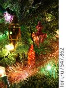 Новогодняя композиция. Стоковое фото, фотограф Андрей Вуколов / Фотобанк Лори