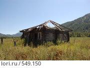 Заброшенный дом. Стоковое фото, фотограф Tabashnikov Alexei / Фотобанк Лори