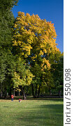Осень в Лефортово. Стоковое фото, фотограф Юрий Назаров / Фотобанк Лори