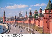 Купить «Кремль. Москва», фото № 550694, снято 21 августа 2018 г. (c) Losevsky Pavel / Фотобанк Лори
