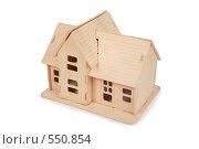 Купить «Модель дома», фото № 550854, снято 18 февраля 2020 г. (c) Losevsky Pavel / Фотобанк Лори