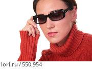 Купить «Девушка в солнечных очках», фото № 550954, снято 25 июня 2019 г. (c) Losevsky Pavel / Фотобанк Лори