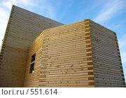 Купить «Строительство  православной церкви методом «без единого  гвоздя»», фото № 551614, снято 6 ноября 2008 г. (c) RedTC / Фотобанк Лори