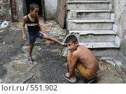 Кубинское детство, Гавана, Куба (2006 год). Редакционное фото, фотограф Денис Березин / Фотобанк Лори